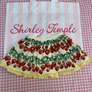 Shirley Temple - シャーリーテンプル 苺 スカパン いちご