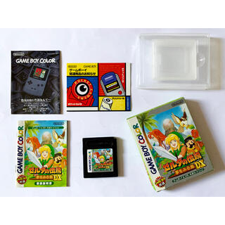 ゲームボーイ(ゲームボーイ)のゲームボーイ ゼルダの伝説 夢をみる島DX GB Gameboy(携帯用ゲームソフト)