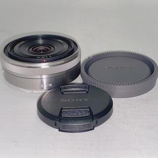 SONY - 【未使用品】SONY 16mm f2.8 単焦点 パンケーキレンズ