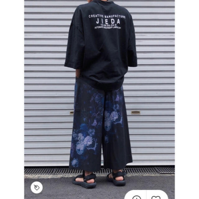 Jieda(ジエダ)の【人気完売品】JieDa LOGO BIG T-SHIRT 19SS  メンズのトップス(Tシャツ/カットソー(半袖/袖なし))の商品写真