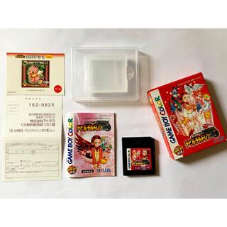 ゲームボーイ(ゲームボーイ)のゲームボーイ 真・女神転生 デビルチルドレン 赤の書 箱説シール(携帯用ゲームソフト)