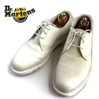 ドクターマーチン(Dr.Martens)のMONO ドクターマーチン 3ホール オールホワイト UK9(ブーツ)