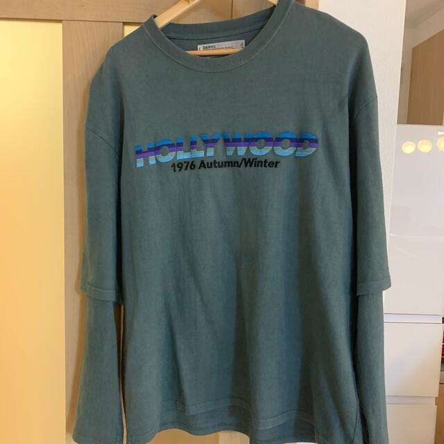 Jieda(ジエダ)のdairiku 20aw レイヤードロンt メンズのトップス(Tシャツ/カットソー(七分/長袖))の商品写真