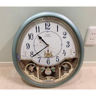 CITIZEN - ✨美品✨CITIZEN パルミューズ プレベール からくり電波時計 シチズン