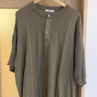 COMOLI - yashiki ニットtシャツ