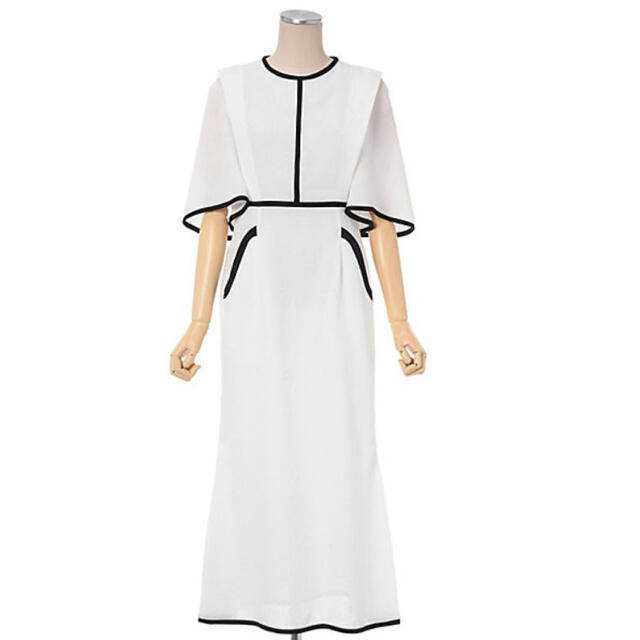 mame(マメ)のmame kurogouchi チューリップ ジャガード ドレス  レディースのワンピース(ひざ丈ワンピース)の商品写真