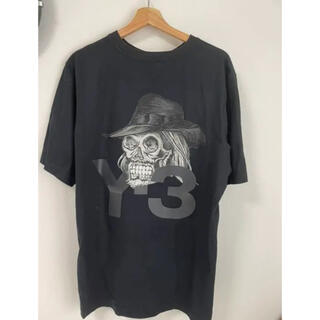 ワイスリー(Y-3)のY-3 ワイスリー スカル 骸骨 刺繍 Tシャツ(Tシャツ/カットソー(半袖/袖なし))