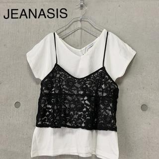 JEANASIS - JEANASIS ジーナシス キャミソール Tシャツ セット