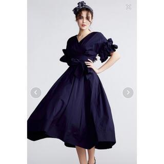 ダブルスタンダードクロージング(DOUBLE STANDARD CLOTHING)のダブルスタンダード☆LAZER BROD RG カシュクールワンピース(ロングワンピース/マキシワンピース)