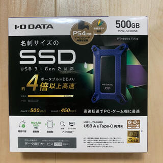 IODATA - SSD   I−O・データ機器 SSPG-USC500NB
