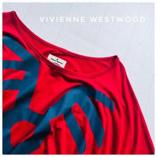 ヴィヴィアンウエストウッド(Vivienne Westwood)のVivienne Westwoodヴィヴィアン ドレープワンピース 38(ひざ丈ワンピース)
