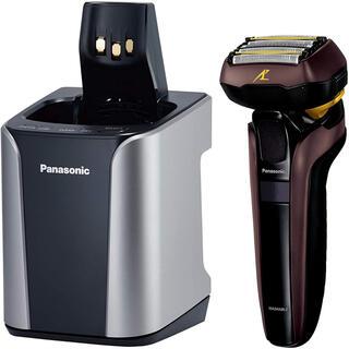 パナソニック(Panasonic)のパナソニック ラムダッシュ メンズシェーバー 5枚刃 茶 ES-LV7D-T(メンズシェーバー)
