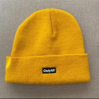 シュプリーム(Supreme)のonlyny オンリー ニューヨーク ニット帽 ビーニー(ニット帽/ビーニー)