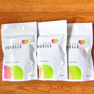 オオツカセイヤク(大塚製薬)のエクエル 大塚製薬 EQUELLE サプリメント 120粒 3袋 新品 未開封(その他)