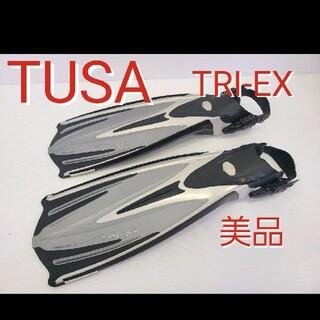 ツサ(TUSA)のTUSA  TRi-EX フィン スキューバダイビング シュノーケリング(マリン/スイミング)