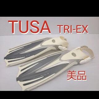 ツサ(TUSA)のTUSA  TRi-EX フィン シュノーケリング スキューバダイビング(マリン/スイミング)