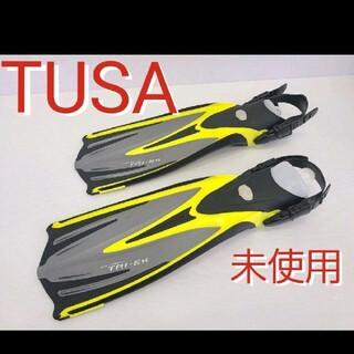 ツサ(TUSA)の未使用 TUSA  TRi-EX フィン スキューバダイビング シュノーケリング(マリン/スイミング)