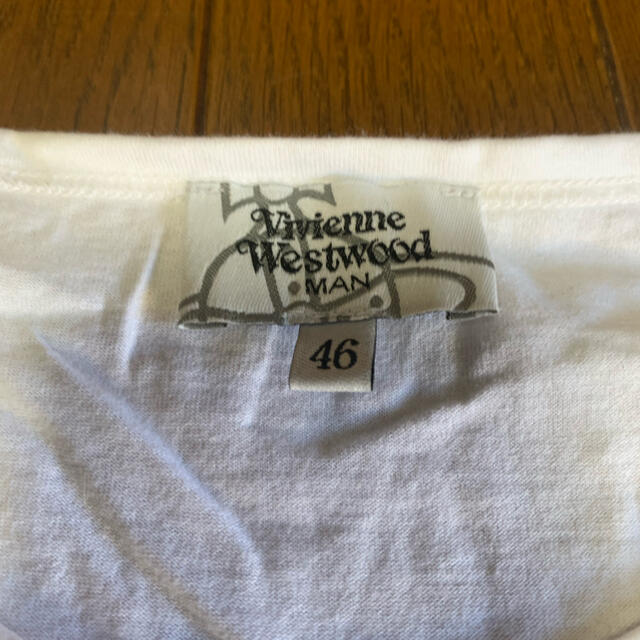 Vivienne Westwood(ヴィヴィアンウエストウッド)のスタンプ柄Tシャツ メンズのトップス(Tシャツ/カットソー(半袖/袖なし))の商品写真