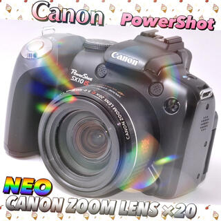 Canon - 【残り1台】キャノン パワーショット ネオ一眼レフ デジカメ  SX10