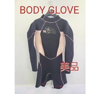 ボディーグローヴ(Body Glove)の美品 ボディグローブ ロングスリーブスプリング ウェットスーツBODYGLOVE(サーフィン)