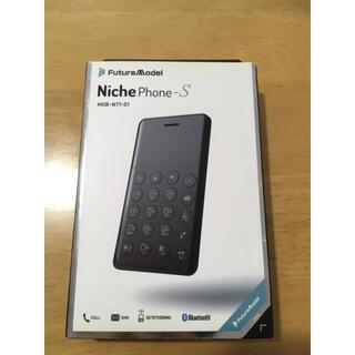 NichePhone-S ニッチフォンS SIMフリー フューチャーモデ
