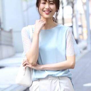 ブリスポイント(BLISS POINT)の新品 ブリスポイント 袖レースT(Tシャツ(半袖/袖なし))