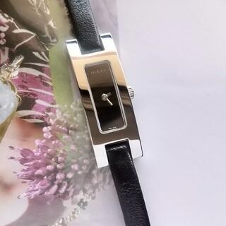 Gucci - ⭐️綺麗 グッチ 鏡面仕上げ レディースウォッチ腕時計 純正ベルト 着物 極美品