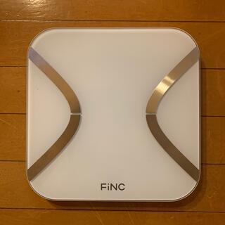 FINC smart scale(高機能体組成計)(体重計/体脂肪計)