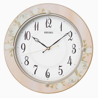 セイコー(SEIKO)の電波掛け時計 SEIKO  花柄模様(掛時計/柱時計)