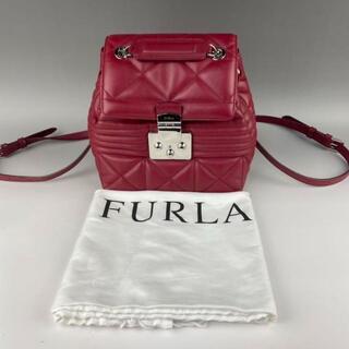 Furla - FURLA バッグ フルラ リュック 赤 レッド 上品 可愛い 極上 【美品】