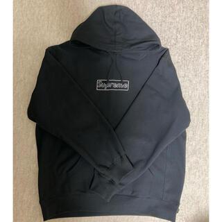 Supreme - Supreme KAWS Chalk Logo Hooded Sweat XL