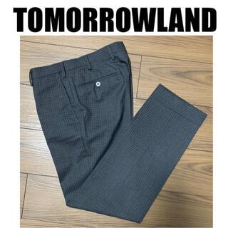 トゥモローランド(TOMORROWLAND)のTOMORROWLAND トゥモローランド スラックス パンツ 42(スラックス)
