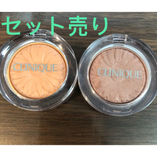 CLINIQUE - クリニーク チーク ポップ 05 ヌードポップ& 20 ソルベポップ セット売り