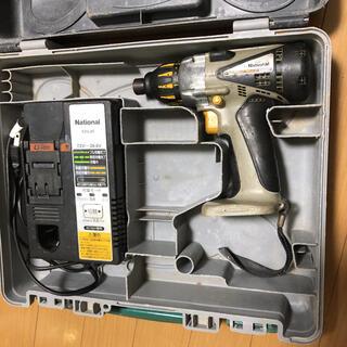 パナソニック(Panasonic)のNational 充電器 EZ0L80 インパクトEZ6507(工具/メンテナンス)