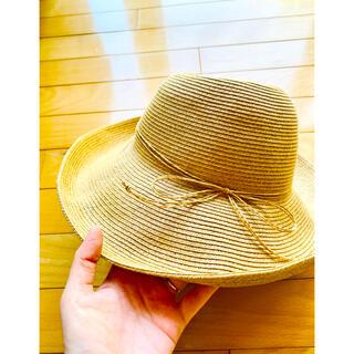ユニクロ(UNIQLO)の【未使用】UNIQLO  麦わら帽子 (麦わら帽子/ストローハット)