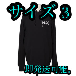 sacai - sacai x kaws パーカー サイズ3