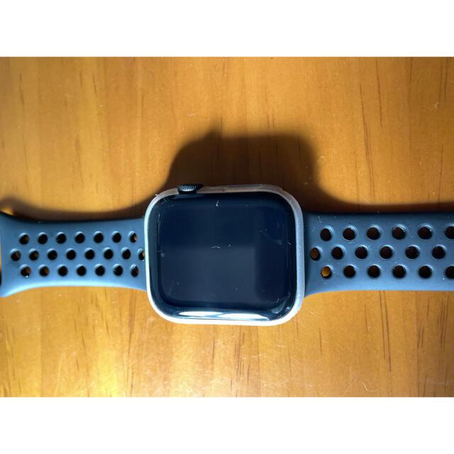Apple Watch(アップルウォッチ)のApple Watch SE スペースグレイ GPS 44mm スマホ/家電/カメラのスマートフォン/携帯電話(その他)の商品写真