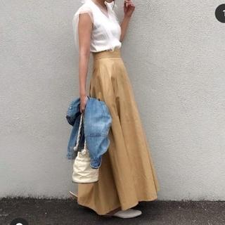 ビューティアンドユースユナイテッドアローズ(BEAUTY&YOUTH UNITED ARROWS)の新品未使用H beauty&youth united arrows スカート (ロングスカート)