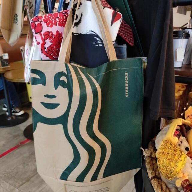 Starbucks Coffee(スターバックスコーヒー)のりあmama様専用 2枚セット 正規 Starbucks Bag スタバ バック レディースのバッグ(トートバッグ)の商品写真