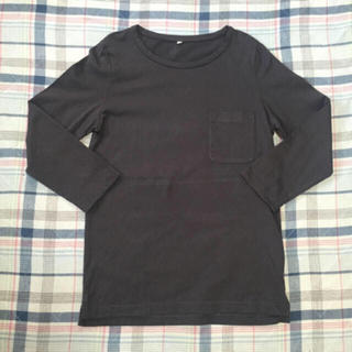 ムジルシリョウヒン(MUJI (無印良品))のクルーネッ七分袖Tシャツ(Tシャツ(長袖/七分))
