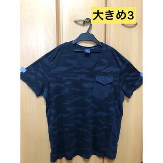 アルマーニエクスチェンジ(ARMANI EXCHANGE)のアルマーニエクスチェンジ Tシャツ紺 サイズL/G(Tシャツ/カットソー(半袖/袖なし))