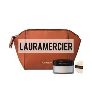 laura mercier - lauramercier ローラメルシエ ポーチ ブラウン