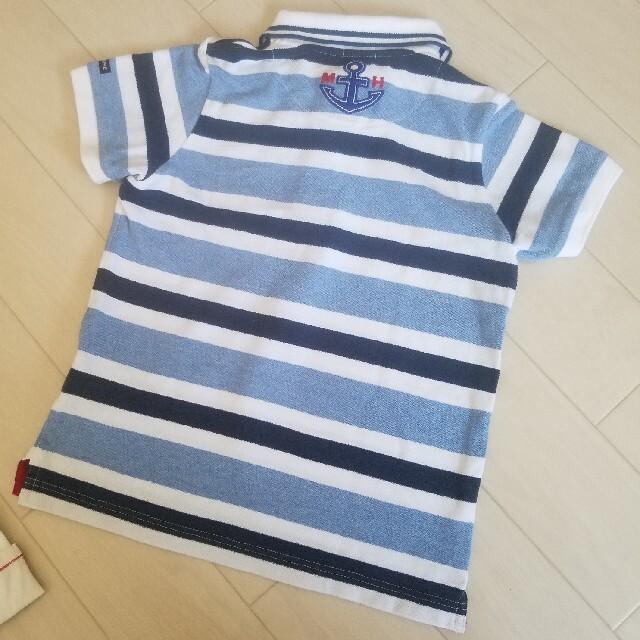 mikihouse(ミキハウス)のミキハウス マリン セット 110 キッズ/ベビー/マタニティのキッズ服男の子用(90cm~)(Tシャツ/カットソー)の商品写真