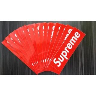 シュプリーム(Supreme)のsupreme ボックスロゴ ステッカー 15枚(ステッカー)