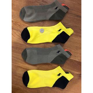 Ralph Lauren - 新品ポロラルフローレン メンズソックス速乾性 靴下 4足セット203