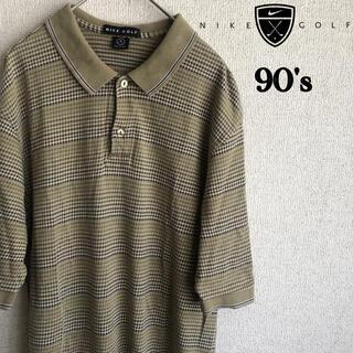 ナイキ(NIKE)の90s NIKE GOLF 半袖 ポロシャツ ナイキ ゴルフ Sサイズ(ポロシャツ)