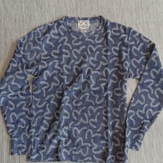 エビス(EVISU)の正規 EVISU ジャガードロングTシャツ(Tシャツ/カットソー(七分/長袖))