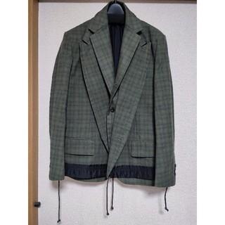 サカイ(sacai)のsacai 20ss レイヤードジャケット(テーラードジャケット)
