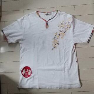 カラクリタマシイ(絡繰魂)の絡繰魂メンズTシャツ(Tシャツ/カットソー(半袖/袖なし))