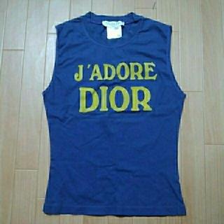 クリスチャンディオール(Christian Dior)の専用です。Dior タンクトップ サイズ38(タンクトップ)